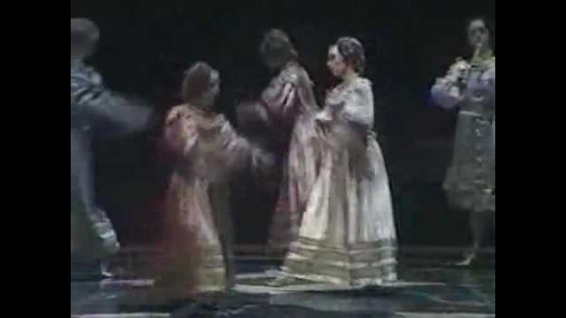 Выход Аполлона из балета-оперы Триумф любви (1681)