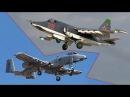 Су-25 «Грач» против А-10 Thunderbolt / Su-25 Rook vs. A-10 Thunderbolt