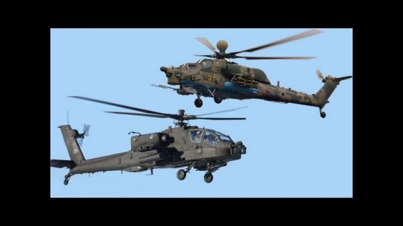 Ми-28Н «Ночной охотник» против АН-64 «Апач» Mi-28N Night Hunter against the AH-64 Apache