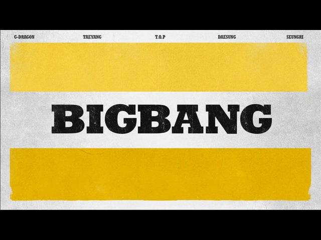 BIGBANG COUNTDOWN LIVE TITLE