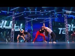 Танцы: Контемпорари 1 (Jacob Miller & Matt Naylor & Steven Stern - Slipping Away)(сезон 2, серия 10)