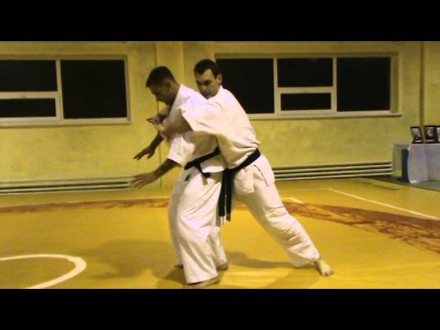 Мотоха Йошин рю Дзю Дзюцу - перших 10ть технік. (Motoha Yoshin ryu Jiu Jitsu)