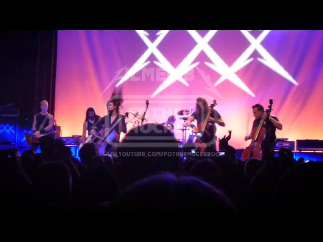 James Hetfield with Apocalyptica One LIVE San Francisco USA 2011 12 05 1080p FULL HD