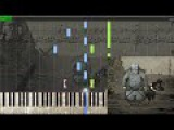 Valiant Hearts - Lonely Pebble (Credits) - Synthesia Piano Transcription