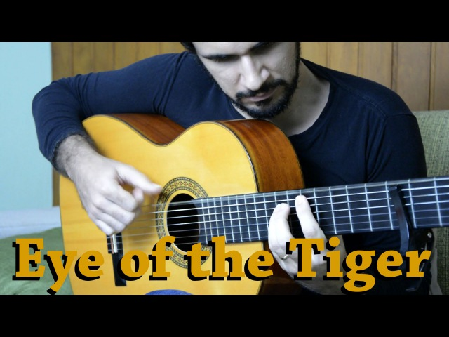 Eye of the Tiger (Rocky III) - Fingerstyle Guitar (Marcos Kaiser) 99