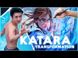 Turning myself into KATARA!! (Rossdraws + Avatar)