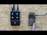 Teenage Engineering PO-12 + Moog Minifooger Analog Effects