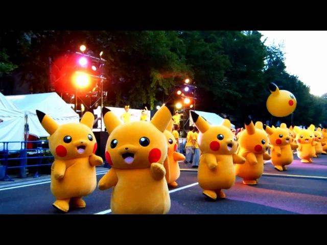 ピカチュウダンス・パレード【Pikachu Outbreak!2015】 Pikachu Dance parade