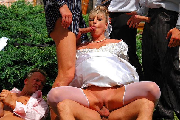 Фото со свадьбы порно