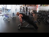 Мастер-класс Victor Martinez. Тренировка дельтовидных мышц
