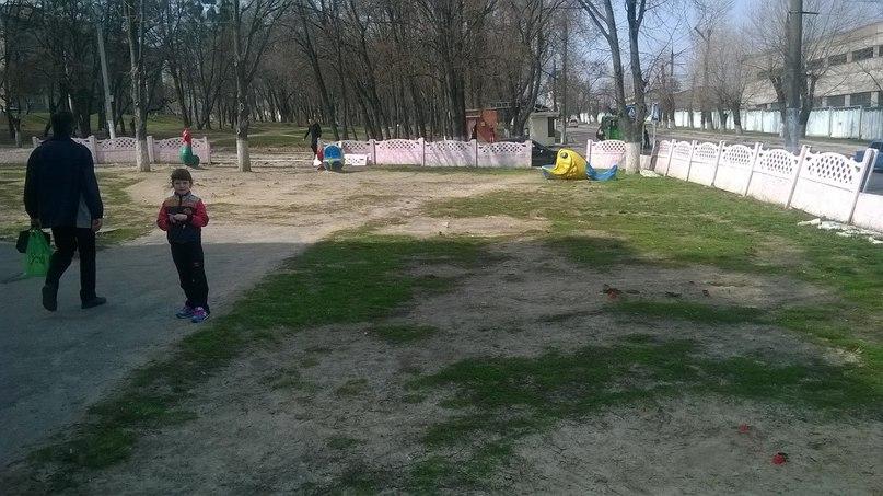 В Харькове детей оставили без места для игр (ФОТО)