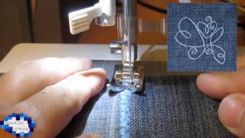 Как можно сшить покрывало из джинсов How to make a cover from jeans