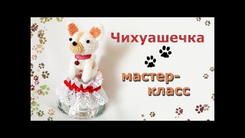 Мастер-класс Собачка амигуруми./Master-class amigurumi dog.