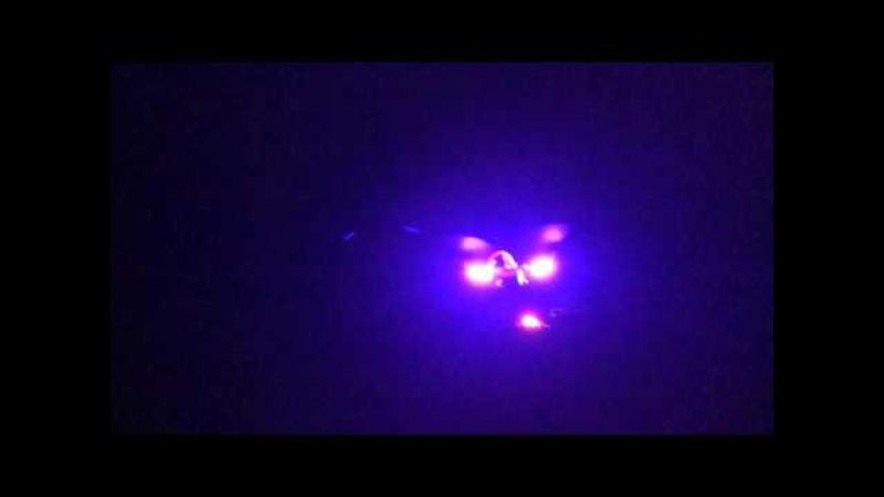 Walkera Runner 250 - Custom LED Mod - Night Flight LOS