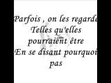 Vanessa Paradis - Il y a (lyric)
