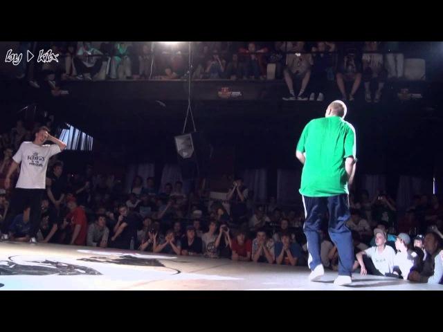 Top9Crw Robin vs. Alcolil (Predatorz) - Red Bull Bc One Moscow 2011