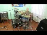 Rammstein - Du Riechst So Gut  - ( Drum Cover ) - Drummer Daniel Varfolomeyev 10 years