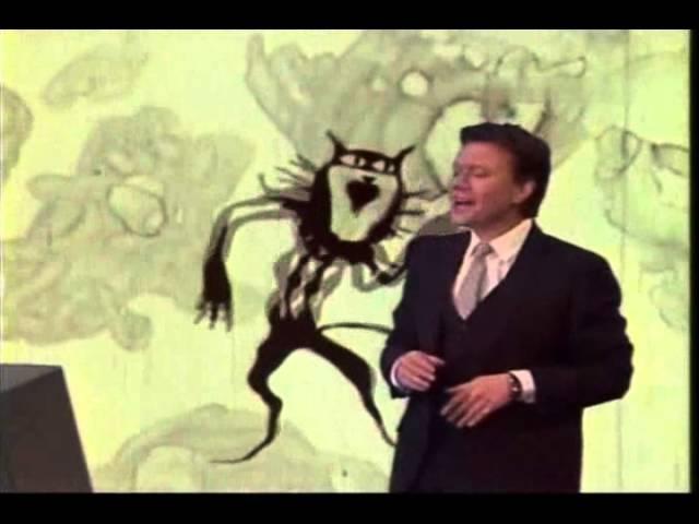 Андрей Миронов - Песня чёрного кота ( из мультфильма Голубой щенок СССР 1976)