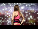 Атлетический пояс Малинаспорт розово-бирюзовый, эксклюзивная серия