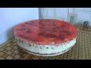 торт суфле с клубникой торт без выпечки