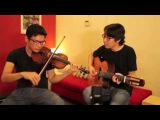 Replugged Music - Singapura, Sunny Island (Violin &amp Guitar instrumental) gypsy jazz