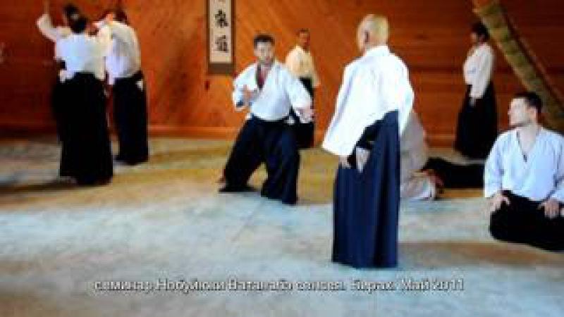 айкидо. гашшуку 2011 - Ватанабэ сенсей