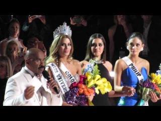 Мисс Вселенная 2015. Съемка из зрительного зала церемонии награждения.
