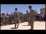 YPG: солдаты чеченцов в составе Курдской армий танцуют лезгинку