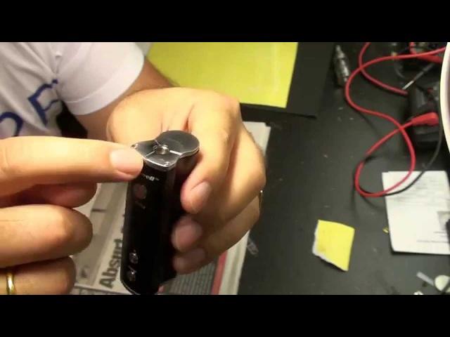 Smowell DPV-50 Исправляем баг с низким зарядом батареи. Weak battery fix
