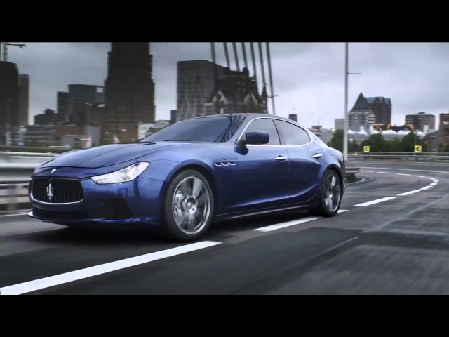 ALL-NEW Maserati Ghibli: 1st Official Trailer