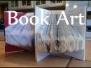 Folded Book Art - Detail