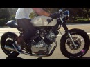 1982 Yamaha Virago XV750 Custom Cafe Racer Greg Hageman Inspired