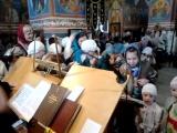 регентская практика незрячей воспитанницы любимого детского дома Христины