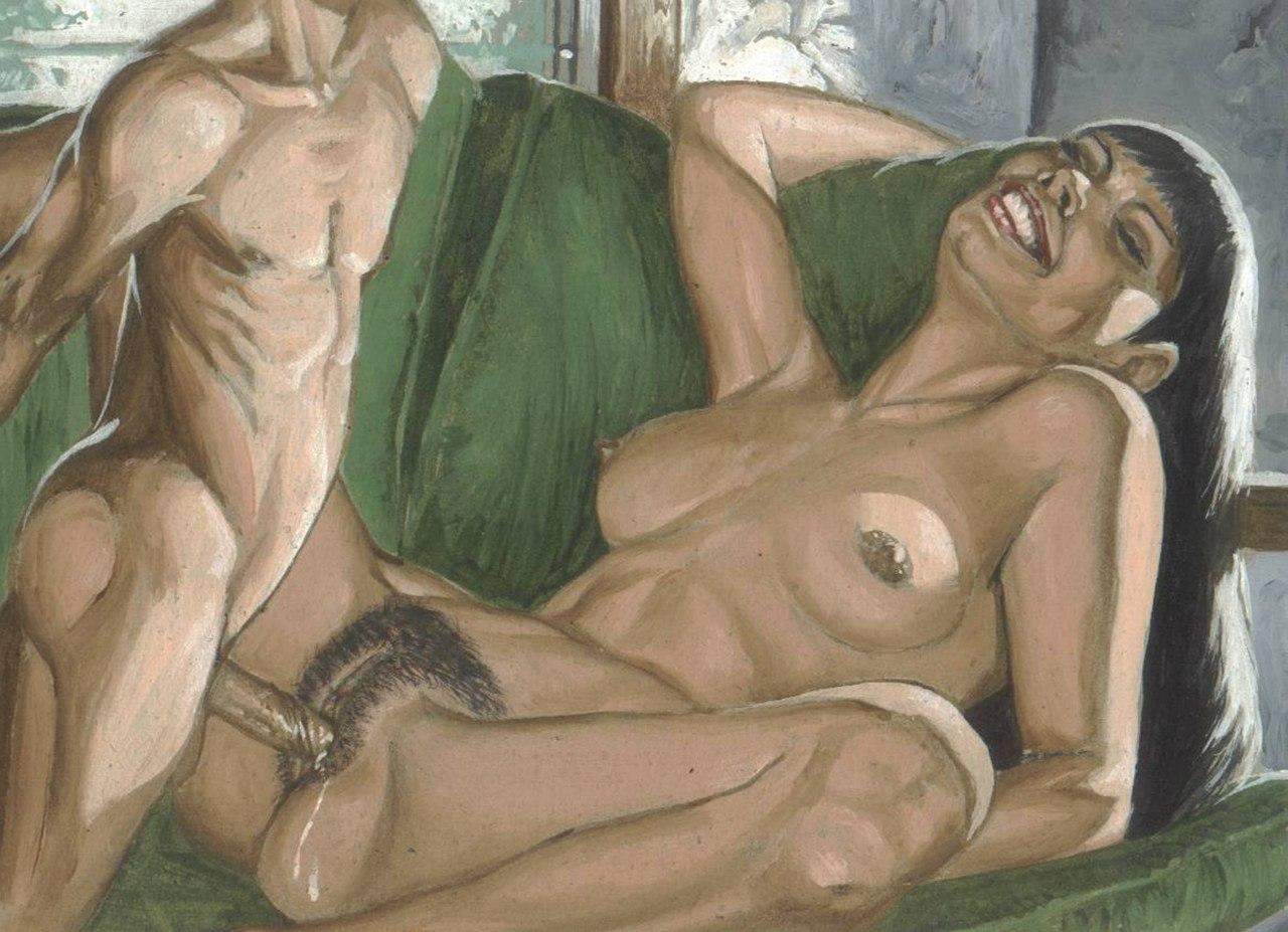 Порно картинки рисованные смотреть