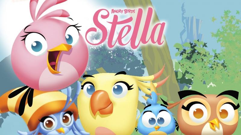 Angry Birds Stella - Злые птички Стелла