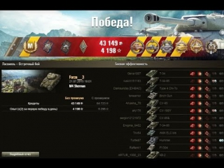 Как играют статисты на M4_Sherman? Карта Ласвилль!