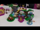 Обзор Lego Friends - 41121- Новинка Лего Подружки Спортивный лагерь: сплав по реке