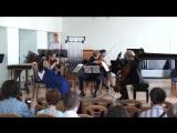К. Бибикова- Квинтет для скрипки альта виолончели фортепиано и ударных (2015.06.23. НСМШ)