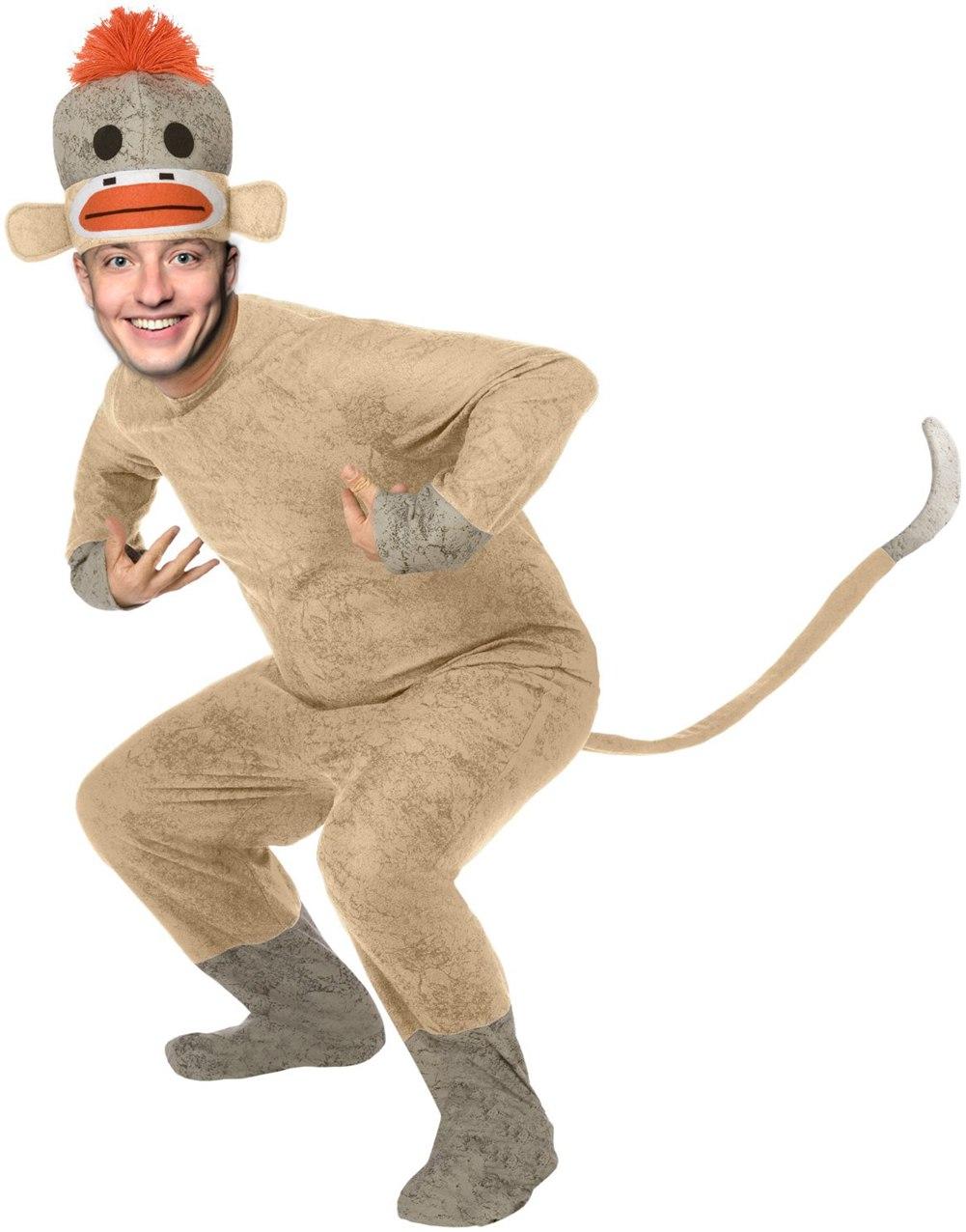 Как сделать костюм обезьяны своими руками фото