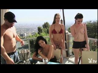 Эксклюзивное групповое порно в реалити шоу на тв