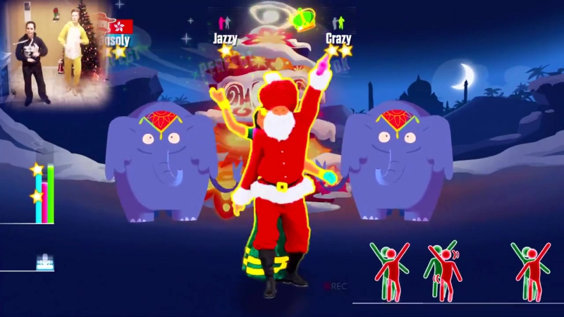 ♛ ВЕСЁЛЫЙ МЯСОТРЯС ♛ Bollywood Santa - Xmas Tree (JUST DANCE 2015) PS4