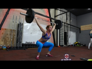 Алена Казакевич - кроссфит тренировка.