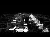 border(2015) - another perspective - short ver. (Rhizomatiks Research + ELEVENPLAY + EVALA + Kinsei)