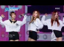 Special stage Cosmic Girls EXID UPDOWN HOT PINK 우주소녀X이엑스아이디 위아래 핫핑크 Show Music core 20160416