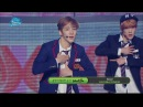 Special stage KNK 스트로 나큰 으르렁 Show Music core 20160416