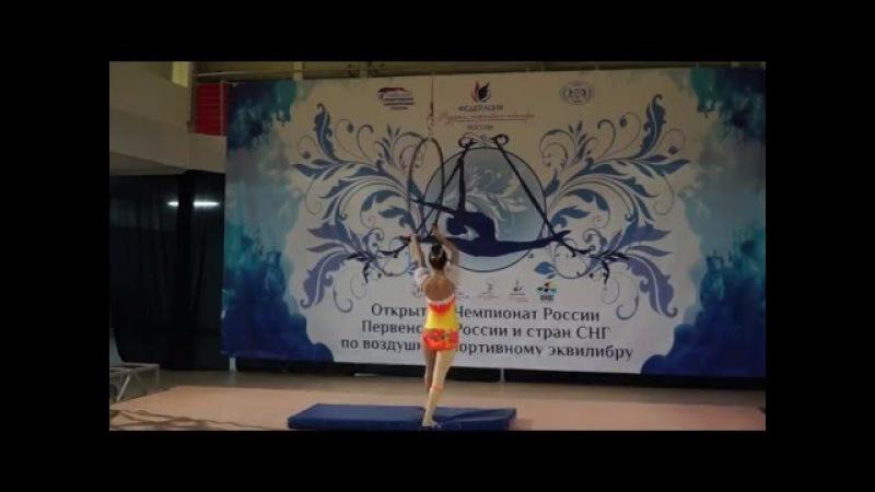 III Международное первенство по воздушному эквилибру, Екатерина Курманаева