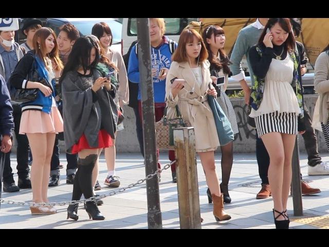 Япония влог. Весенние ножки, Акихабара с Марико, салон со спец услугами