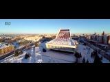 Аэросъёмка Зимний Омск
