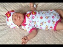 Распаковка Реборна! 2 Сладкая красавица сплюша! Reborn baby box opening!