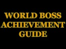 TERA World Boss Guide for Achievements